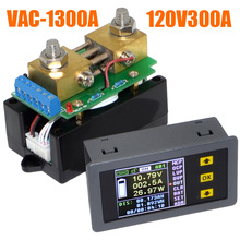 VAC1300A Multifunction Wireless Bi-directional Volt Ammeter Capacity Watt Table Coulometer Free Shipping+Track Number 12003255