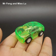 Kids Toys Cars Tiny Model Vehicle For Children Green Pull Back Game