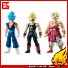 "Sale 100% Original BANDAI Tamashii Nations SHODO Vol.5 Action Figure - Vegetto & Bardock & Broly (9cm tall) from ""Dragon Ball Z""(China)"