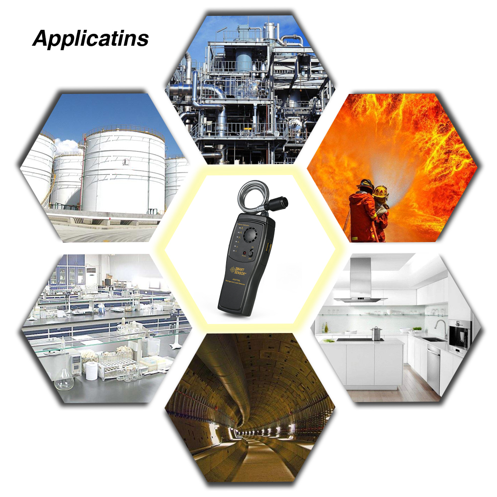 SMART SENSOR Smart Air Quality Sensor Freon Gas Analyzer Detector CFCs HCFCs