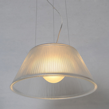 Modern contracted striated Glass Dining Room Pendant Lamp Contemporary restaurant Pendant Lights Bar Conter Glass Romeo Lamp
