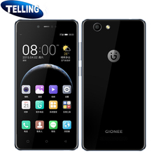 "Original Gionee F106 Mobile Phone Android 6.0 4G LTE MTK6737 Quad Core 8MP Camera Global Network 2G+16G 5"" HD Screen Cellphone"