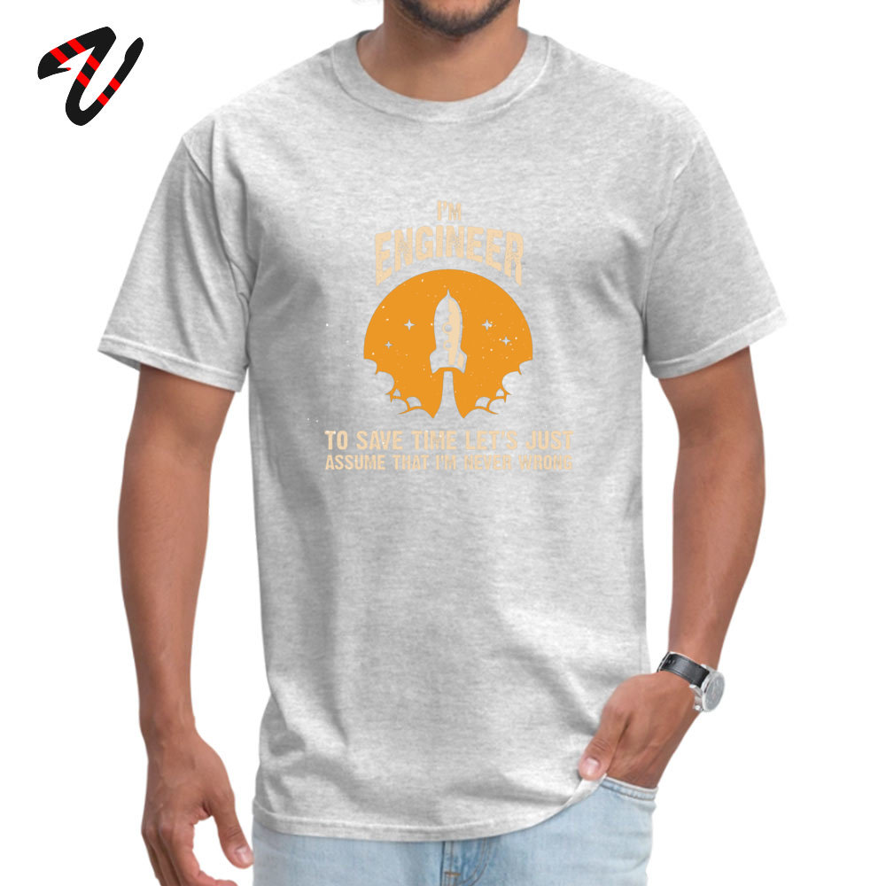 Im ENGINEER Plain Youth Top T-shirts O-Neck Short Sleeve Cotton Fabric Tops T Shirt Unique Tops Shirt Wholesale Im ENGINEER 10652 grey