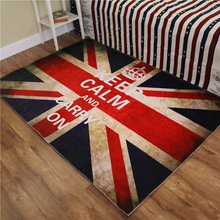 British Union Jack Flag Lunmi Living Room Coffee Table Bedroom Carpet Computer Chair Mat Soft Entrance Rug Carpet