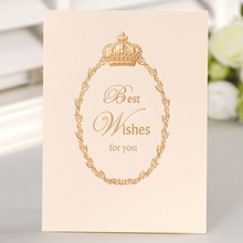 12set fairy tale theme best wish Card leave message cards Lucky Love valentine Christmas Party Invitation Letter envelope(China)