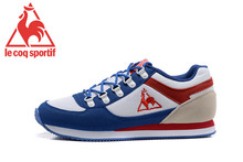 Free Shipping Classics Women's Sports Shoes,New Arrivals Original Le Coq Sportif Women Running Shoes White/Blue Color Eur 36-39