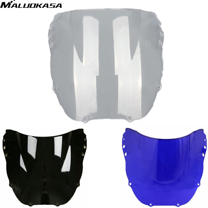 MALUOKASA Motorcycle Windscreen ABS Motorbike Windshield For Honda CBR900RR 919 1998 1999 Windproof Deflector Free shipping Sale(China (Mainland))