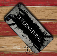 Cool supernatural logo case for iphone 4 5s SE 5c 6 6s 7 Plus iPod 5 6 Samsung s3 s4 s5 mini s6 s7 edge plus Note 3 4 5