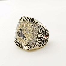 Factory direct sale 2017 Golden State Warriors CURRY Round Basketball custom sports world Championship Ring Size 6 to 15
