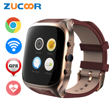 ZUCOOR Smart Watch X01S 3G Smartwatch Phone Android 5.1 Life Waterproof GPS Pedometer WiFi Bluetooth Mp3 Camera Heart Rate Clock