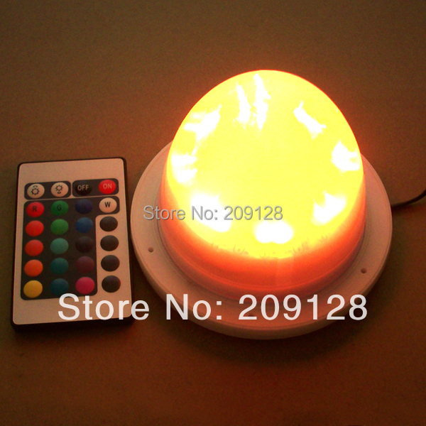 Any Size lighted parts colours change remote control for Led Furniture lampwick VC-L117<br>