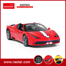 Rastar licensed R/C 1:14 Ferrari 458 Speciale A simulation rc drift remote control car vehicle 73400(China)