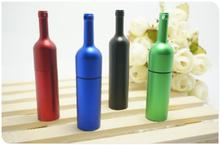 wine bottle USB 2.0 usb flash drives thumb pendrive u disk usb creativo memory stick 4GB 8GB 16GB 32GB 64GB S290