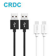 Micro Usb Cable,CRDC Quick Charge 3.0/2.0 Fast Charger Cable 480 Mbps Data Cable For Samsung Xiaomi 1m 2m 3m Android Phone Cable