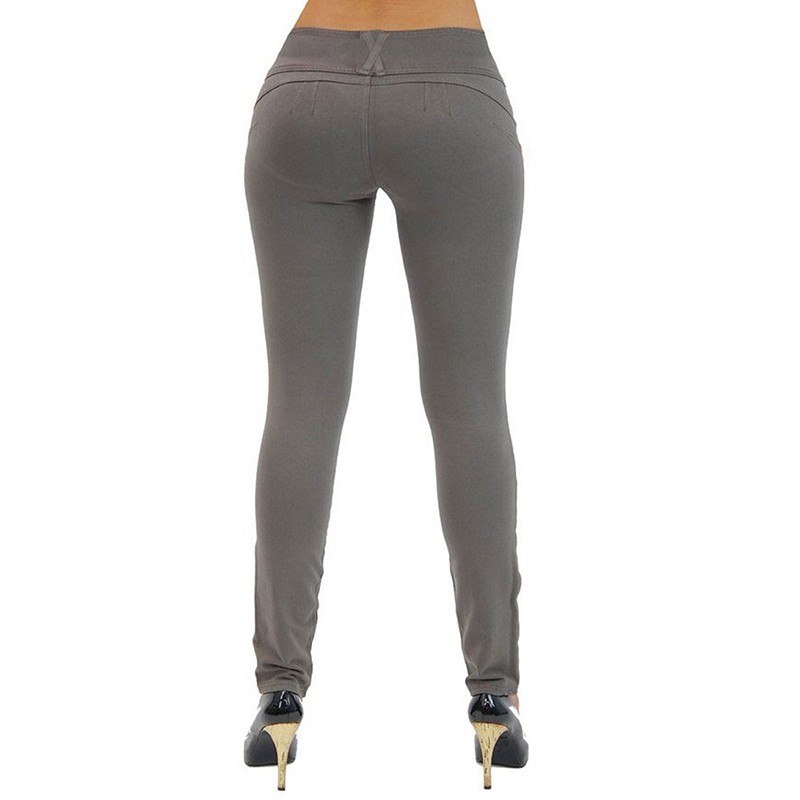 Sexy Push Up Leggings, Women's Denim Leggings, Casual Elastic Jeggings 14