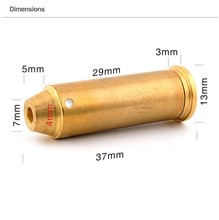 Hunter Laser Bore Sighter 44Mag Red Laser Boresighter Shotgun Sights Universal Outdoor Hunting Accessories(China)