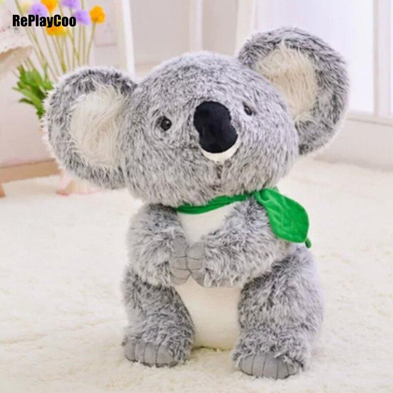 45CM New Koala Plush Toys Simulation Doll Soft  Toy Koalas Grey Stuffed Animals Australias Baby Toys Gifts For Birthday<br>