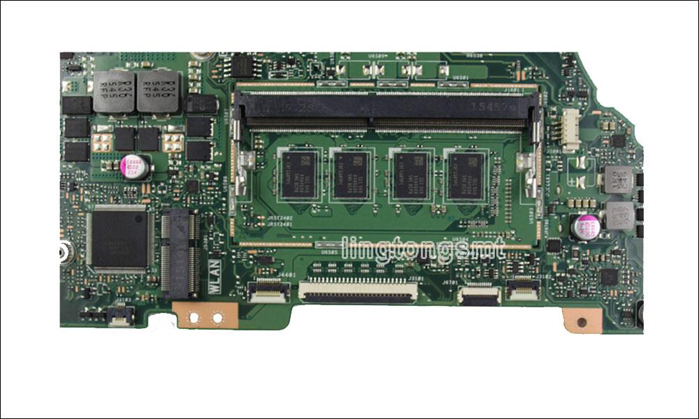 K501UW Motherboard rev2.0 I7-6500U GTX940M For Asus A501U K501U K501UX K501UB K501UQ K501UW Laptop Motherboard K501UW Mainboard