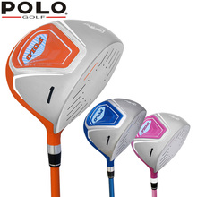 Brand Polo Golf Driver Fairway Wood Club Graphite Children Boys and Girls Exercise #1 Wood Golf Beginner Ultralight Shaft Right(China)
