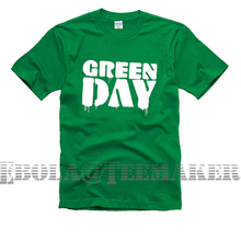Sexemara new 2017 free shipping Greenday green day printing letters couple clothes sitcom men male man short-sleeve T-shirt