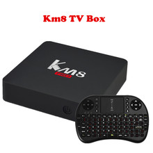 KM8 PRO Original Smart TV Box Android 6.0 Amlogic S912 Octa Core BT 4.0 2GB 8GB/16GB 2.4G/5G WiFi IPTV Set Top Box Media Player