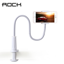 Rock Universal Phone Holder Stand Bed Car Selfie For iPhone 6s 6 7 Plus for Samsung 3.5-6 Inch Phone Long Arm