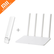 Original Xiaomi Router 3G WiFi Extender Repeater 1167Mbps 2.4G/5GHz Dual Band Wifi 128MB Flash ROM 256MB Memory APP Control(China)