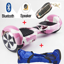 Hot cool 6.5 Inch smasung battery Two wheel Electric scooter Hoverboard Unicycle Skateboard Standing Drift Board Hoverboard(China)