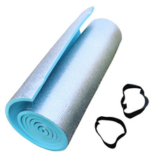 One-sided Aluminum moisture pad yoga mat outdoor camping sleeping pad lunch break pad Single widened 180*51*1cm