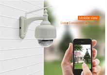 WANSCAM 720P Wireless WiFi IP Camera Outdoor PTZ Waterproof H.264 HD CCTV Security Camera Wifi Night Vision