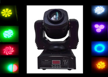 Newest design dj equipment 60w led mini spot gobo moving head light 6pcs/lot