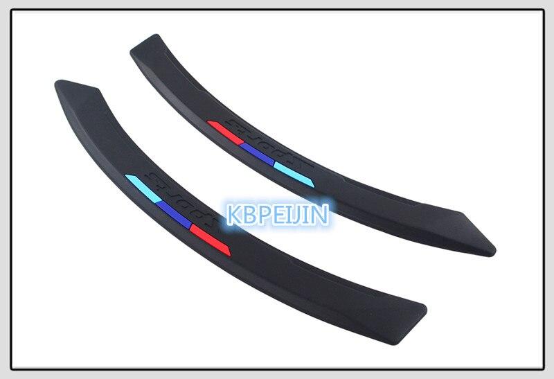 Exterior Accessories CAR Bumper Anti-Collision Strip Sticker for Infiniti FX35 FX37 EX25 G37 G35 G25 Q50 QX50 EX37 FX45 G20 Color Name: White