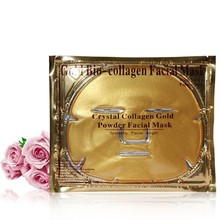 Gold Bio-Collagen Facial Mask Face Mask Crystal Gold Powder Collagen Facial Masks Moisturizing beauty products 200pcs/lot