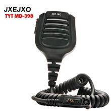 JXEJXO Original Handheld Mic/Microhpone MIC-MD398 for TYT MD398/MD-398 DMR Two way radio Waterproof Feature Hand-size A018