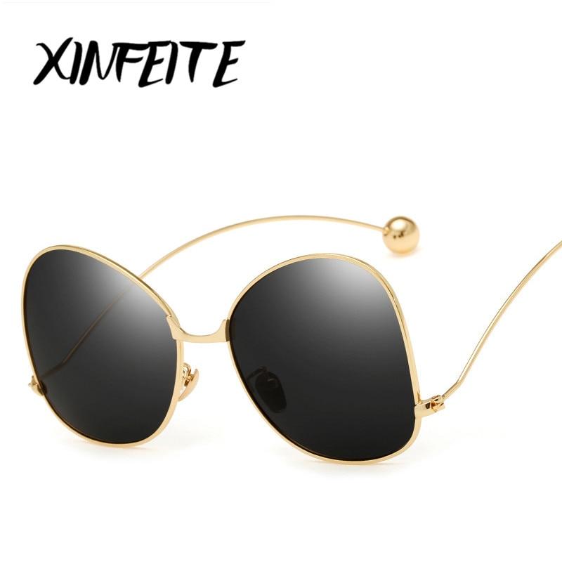 XINFEITE 2017 Women Polarized Sunglasses Retro Brand Designer Pink Outdoor Female Fashion Oversized Butterflies Sun Glasses <br><br>Aliexpress