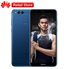 "Original Huawei Honor 7X 4GB RAM 64GB ROM 5.93""Octa Core Kirin 659 2160*1080P 3340mAh Dual Rear Cameras Mobile Phone Fingerprint(China)"