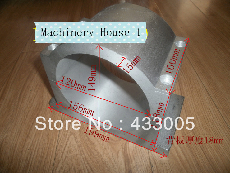 120mm Spindle motor fixture Spindle Chuck for CNC Router Spindle Bracket<br><br>Aliexpress