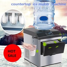 the most popular style electric commercial  countertop bullet ice maker, electric ice making machine,Bottled water ice machine