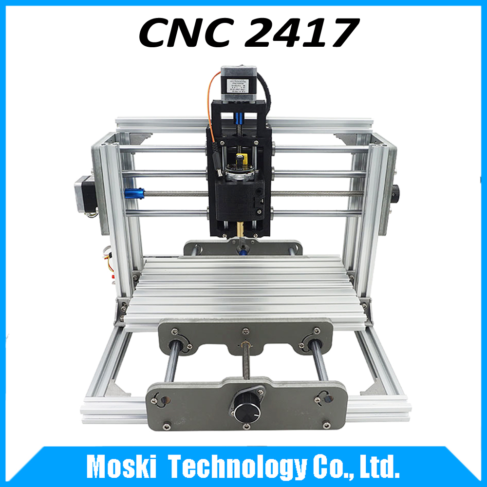 cnc 2417,diy cnc engraving machine,3axis mini Pcb Pvc Milling Machine,Metal Wood Carving machine,cnc router,cnc2417,grbl control(China (Mainland))