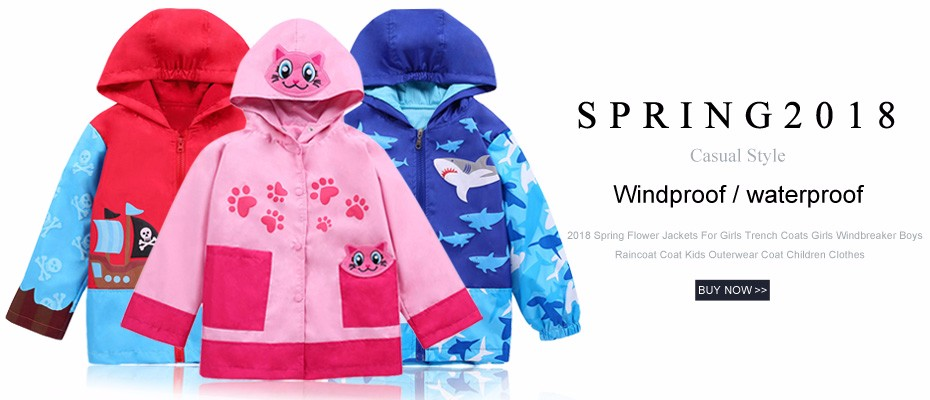 14354aa9fed0 LZH Baby Girls Jacket For Girls Windbreaker Raincoat Coat Kids ...