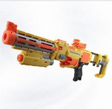 74cm Big Toy Gun Infrared Sighting Plastic Electric Gun Arma Toys CS Game Soft Bullet Air Guns Revolver Christmas Gift(China)