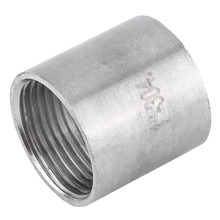 "1 Pcs Stainless Steel SS304 BSP 1"" to 2"" Female x Female Threaded Pipe Fitting"