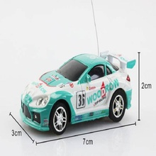 Mini Racing Car RC Radio Remote Control Vehicle education Toy Car Shipping 1:63