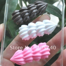 10pcs/Lot Kawaii Resin Coffee Cup Cabochons Botoes Flat Back Cute Resin Food For DIY Decoration with 10 Deisgns(China)