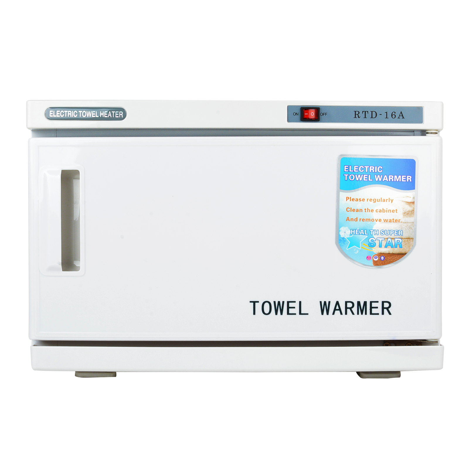 Shellhard 16L Hot Towel Warmer UV Sterilizer Box Cabinet Disinfection Heater Beauty Salon Spa Nail Art Equipment
