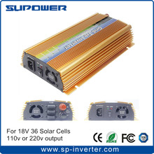 1000W Solar On Grid Tied Inverter Microinverter MPPT Function 110V or 220V output for 18V 36 Cells Solar Panel system