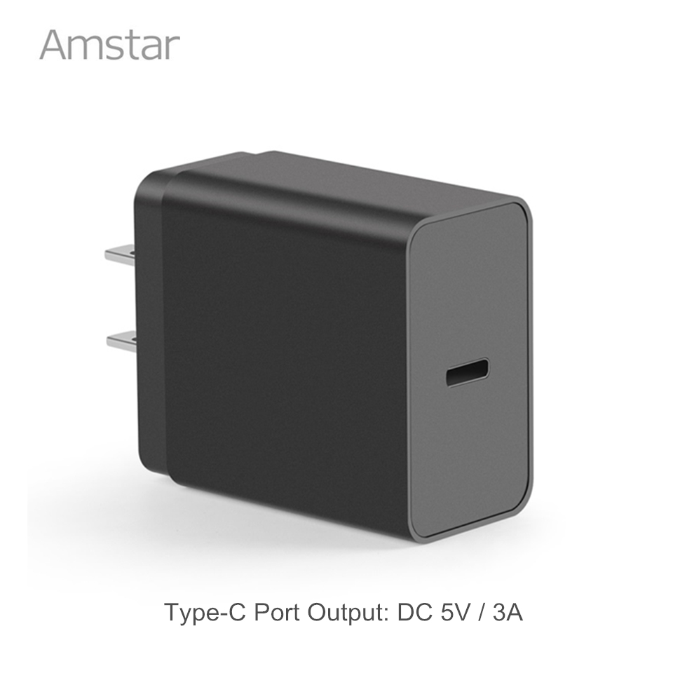 Amstar USB C Charger 5V/3A 15W Type-C Wall Charger Google Pixel/Pixel XL Lumia 950xl/950 Nexus 5x/6p Nintendo Switch