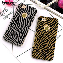 Buy JAMULAR Zebra Leopard Cases iPhone 7 Plus Cases Bling Glitter TPU Soft Back Cover Case iPhone 6S 6 Plus Capa Fundas Case for $1.89 in AliExpress store
