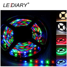 LEDIARY LED Flexiable RGB Strip Lighting 300LED 5M 3528 12V IP20 Non-waterproof  For Christmas Light Decoration Strip Only