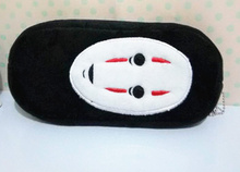 NEW Black Mask Coin Case Bag Pouch ; Plush Coin Wallet BAG ; 20CM Approx. Hand Pocket Purse BAG Pouch(China)